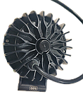 Фара светодиодная LED противотуманная круглая (3 диода) black, фото 5