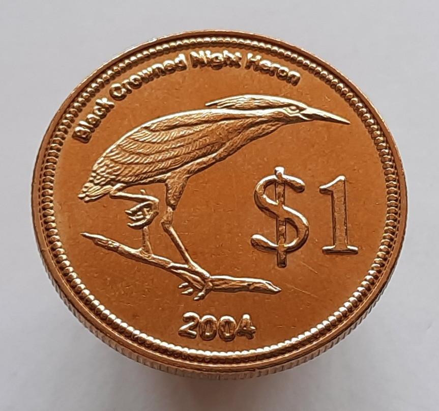 Кокосові острови 1 долар 2004