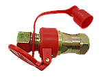 Муфта разъемная ЕВРО М 22 х 1,5 красная (воздух) (универсальная позиция), фото 2