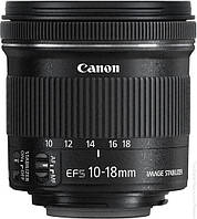 Объектив Canon 10-18mm f/4.5-5.6 EF-S IS STM