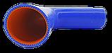 Патрубок (150 мм х 150 мм) (90` - кут) (d=50 товщ = 4 мм), фото 2