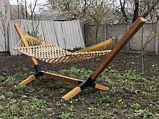 Гамак 200*130 см «Королевский» (без каркаса, шнур Ø16 мм)