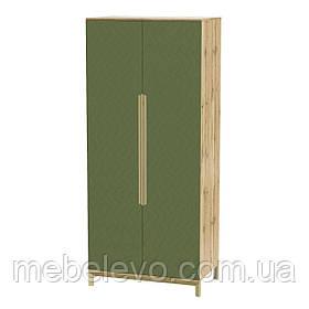 Шкаф Swan Art In Head 1000x2300x600 бали зеленый (105100304) Шафа Swan Art In Head 1000x2300x600 балі зелений