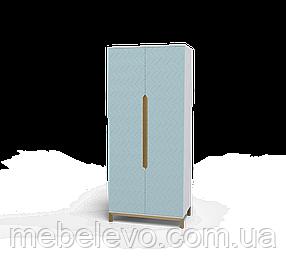 Шкаф Swan Art In Head 1000x2300x600 голубая лагуна (105100302) Шафа Swan Art In Head 1000x2300x600 блакитна
