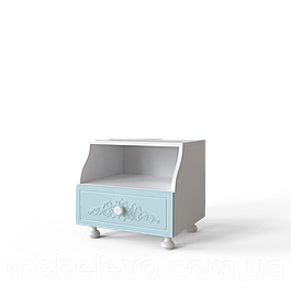 Тумба   Amelie 43 460x430x400 Блакитна лагуна  (103120102) Тумба 43 Amelie Art In Head 460x430x400 блакитна