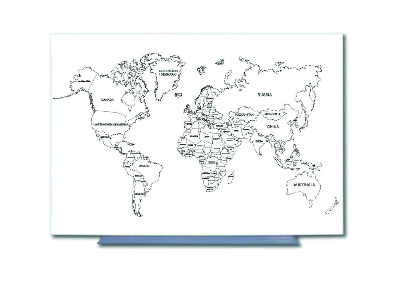 Карта Украины / Мира Tetris магнитно-маркерная поверхность