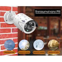 Комплект видеонаблюдения POE IP Hiseeu POEKIT-4HB612 4K на 4 камеры 8Mp и регистратор + провода, фото 3