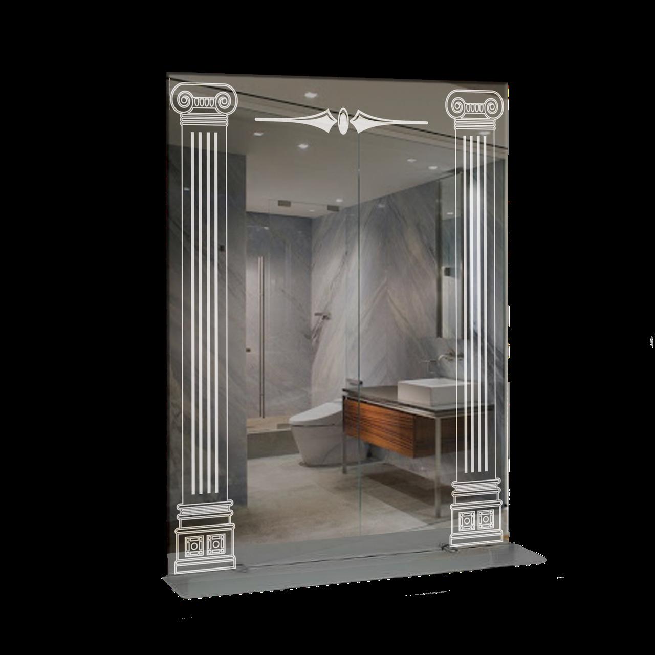 Дзеркало для ванної кімнати 600х800 Ф399