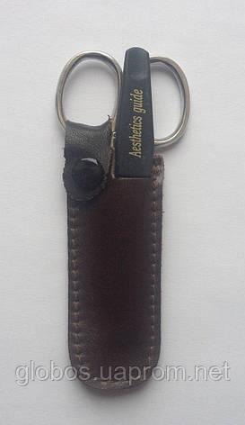 Маникюрный набор GLOBOS 120-5 N в кожаном футляре, фото 2