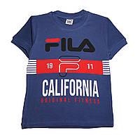 """Стильная футболка для мальчика """"FILA"""" (от 5 до 8 лет)"""