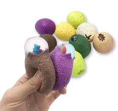 Антистресс динозавр в яйце. Силиконовая игрушка для детей.