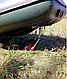 Візок для надувного човна носова, фото 4