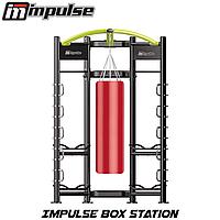 Профессиональная фитнес станция силовая для занятий боксом Impulse Box Station