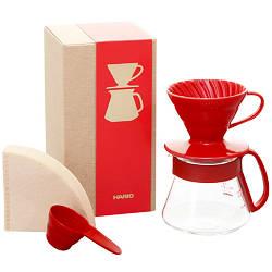 Набір Hario V60 для заварювання кави (VDS-3012R)