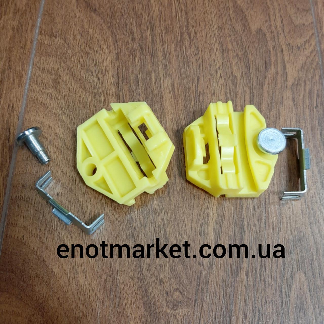 Механізм склопідіймача фіксатор скріпка задня права / ліва двері Mercedes-Benz, Opel (Rear R / L).