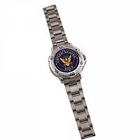 Часы Rothco Navy Logo Watch / Chrome stainless Steel