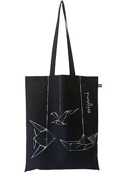 Сумка шопер Emmer Origami black