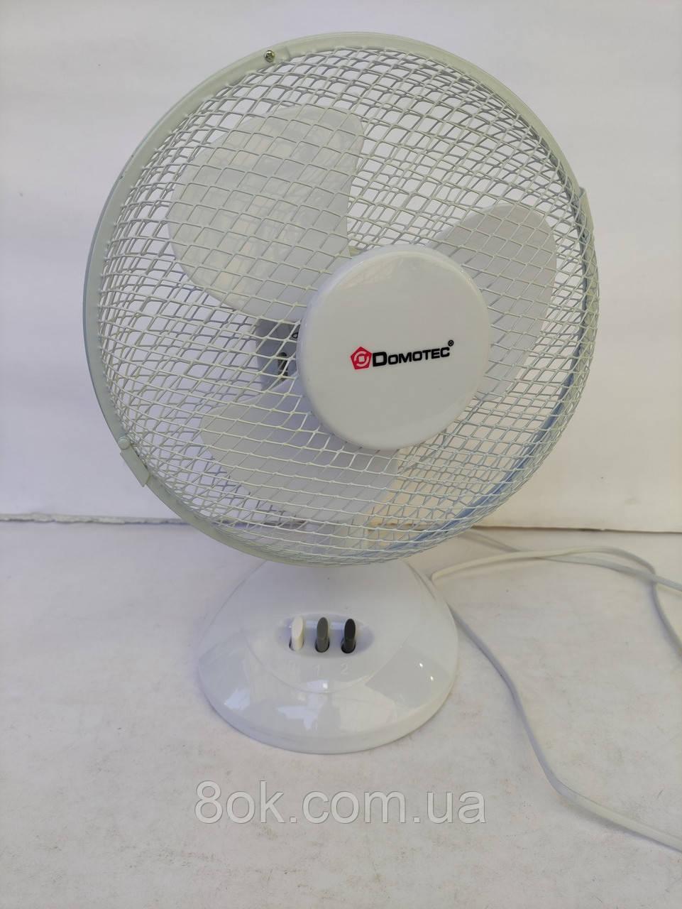 Настільний вентилятор Domotec MS-1624