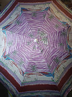 Зонт кемпінговий, пляжний (хороша якість) 2 м