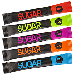 Сахар в стиках 5г #XL (200шт=1кг)