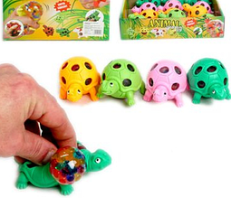 Антистресс игрушка Черепаха с орбиз. 12 шт в уп.