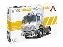 IVECO Turbostar 190.48 Special. Модель вантажного тягача в масштабі 1/24. ITALERI 3926