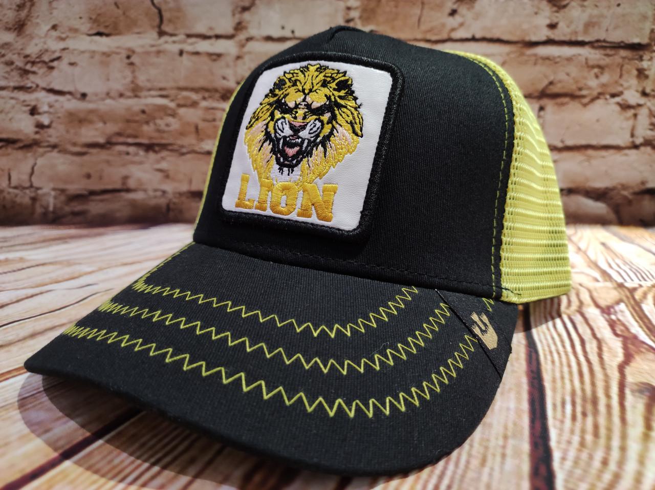 Кепка Бейсболка Тракер с сеткой Goorin Brothers LION