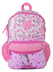 Рюкзак школьный для девочки Единорог Розовый