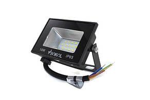 Світлодіодний прожектор 10W 6500K Sokol led slt-10w