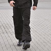Штаны тактические брюки софтшелл 3 поколения черные Mil-tec