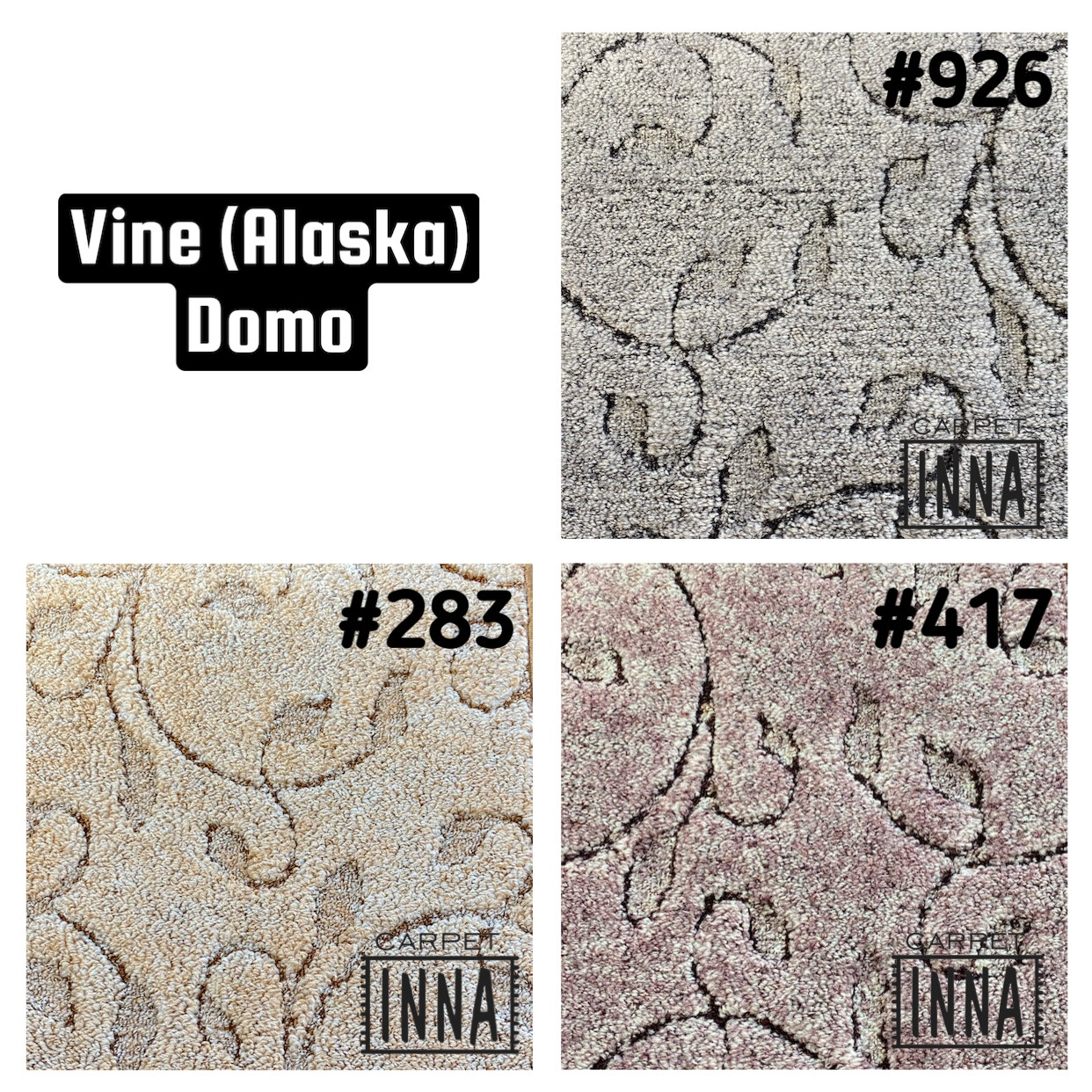 Ковролін Vine Domo (Alaska) ITC 3m, 4m, 5m, побутової, на підлогу в квартиру, студію, вітальню