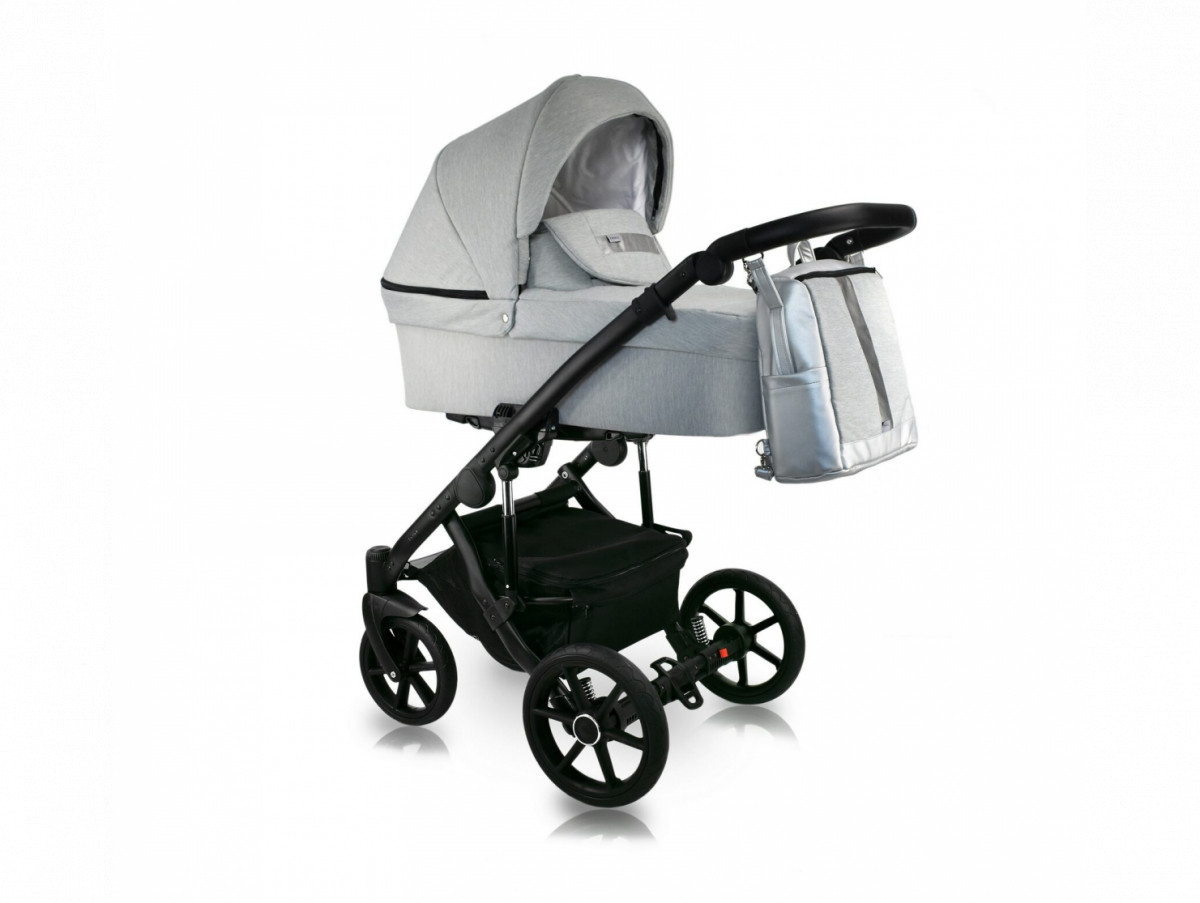 Дитяча коляска 2 в 1 BEXA LINE 2.0 L-09 серый с оттенком
