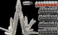 Мультиинструмент 98Z055 Topex с набором насадок и головок 74 в 1