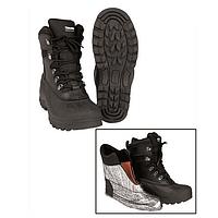Берцы ботинки тактические утепленные кожа/резина Thinsulate Mil-Tec
