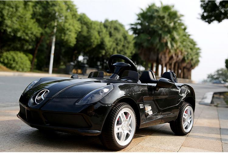 Детский Электромобиль Mercedes DMD 158 EBRS-2 черный, колеса EVA, автопокраска, пульт Blue Tooth 2.7 G