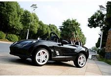 Детский Электромобиль Mercedes DMD 158 EBRS-2 черный, колеса EVA, автопокраска, пульт Blue Tooth 2.7 G, фото 2