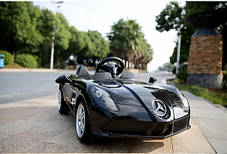 Детский Электромобиль Mercedes DMD 158 EBRS-2 черный, колеса EVA, автопокраска, пульт Blue Tooth 2.7 G, фото 3