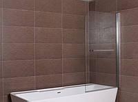 Шторка для ванны Aqua-World Pivot PV80B ДкПдв.80-Tr прозрачное стекло, фото 1