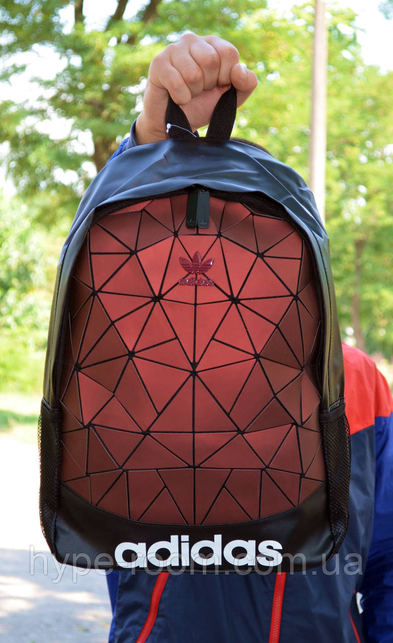 Городской Рюкзак Adidas красного цвета на 16 литров