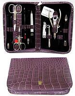 Маникюрный набор «Kellermann Solingen» 12 предметов. 5205 Pink