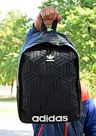 Міський Рюкзак Adidas чорного кольору на 16 літрів, фото 1