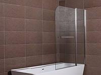 Шторка для ванны Aqua-World Pivot PV120B ДкПдв.120-Tr прозрачное стекло