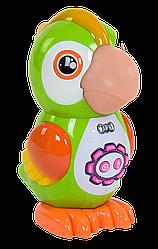 Інтерактивна іграшка Розумний Папуга (казки, вірші, пісні, запис голосу)