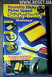 Щетка-Валик для Чистки Одежды и Ковра Sticky Buddy универсальный помощник, фото 4