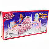 Детская игрушечная мебель Глория Gloria для кукол Барби Спальня 2319. Обустройте кукольный домик, фото 2