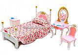 Детская игрушечная мебель Глория Gloria для кукол Барби Спальня 2319. Обустройте кукольный домик, фото 3