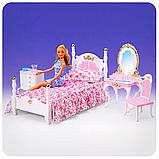 Детская игрушечная мебель Глория Gloria для кукол Барби Спальня 2319. Обустройте кукольный домик, фото 6