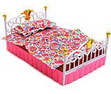 Детская игрушечная мебель Глория Gloria для кукол Барби Спальня 99001. Обустройте кукольный домик, фото 5