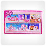 Детская игрушечная мебель Глория Gloria для кукол Барби Спальня 99001. Обустройте кукольный домик, фото 6