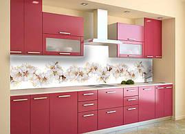 Кухонный фартук Цветы вишни кухонные фартуки для кухни на стену фотопечать скинали цветение 600*2500 мм